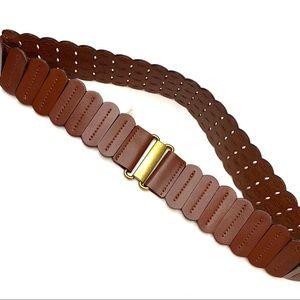 SALE❤️NWT LOFT Genuine Leather Laser Cut Belt